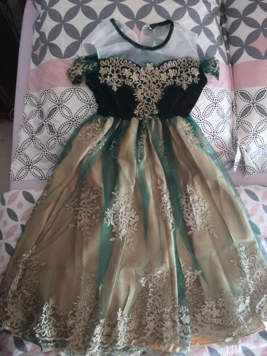 Платье Анны на коронации